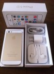 Продать iPhone 5S Gold / ленты